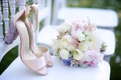 Elegant wedding shoes...