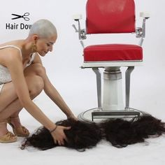 Shaved Hair Women, Shaved Hair Cuts, Half Shaved Hair, Oval Face Hairstyles, Down Hairstyles, Shaved Hairstyles, Shaved Bob, Shaved Heads, Hairstyle