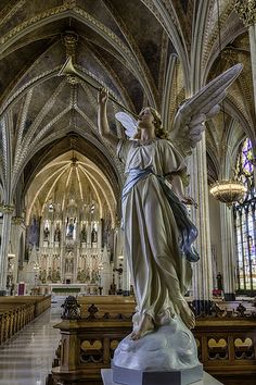 Sweetest Heart of Mary Roman Catholic Church, Detroit Catholic Art, Roman Catholic, Religious Art, Church Architecture, Beautiful Architecture, Old Churches, Catholic Churches, I Believe In Angels, Templer