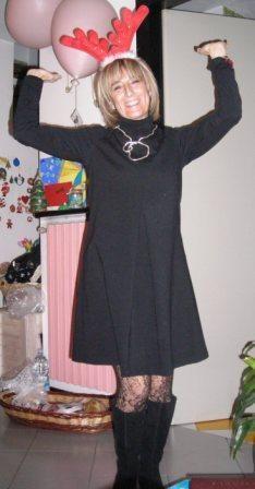 2008- il dettaglio sono le calze di pizzo