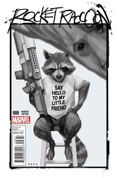 Rocket Raccoon 8 ( Noto Variant )