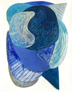 Geo, Painting & Drawing, Paintings, Canvas, Drawings, Artwork, Blue, Tela, Work Of Art