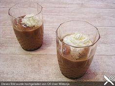 Marzipan-Eiskaffee