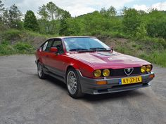 Alfa Gtv, Alfa Alfa, Alfa Romeo Gtv6, Supercars, Cars And Motorcycles, Classic Cars, Automobile, Wheels, Racing
