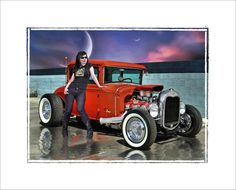 street rod artists | Voting Starts Now, March Hotrodders.com Art Contest 32 / 31 Finished ...
