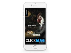 Designed for iOS and Android, the mobile magazine specialized in photography, offers selected content ranging from interviews and specialty news, sharing of events, to the best purchasing suggestions catalog.  (Sample some spreads).