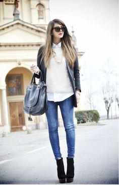 画像 : 好感度抜群の「白ニット」は清潔感のある着こなしがポイント!爽やか秋冬コーデ術 - NAVER まとめ