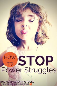 How to Stop or Avoid Power Struggles