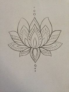 lotus zentangle doodle line drawing Lotusblume Tattoo, Piercing Tattoo, Tattoo Drawings, Sternum Tattoo, Piercings, Tattoo Shop, Tattoo Thigh, Art Drawings, Spider Tattoo