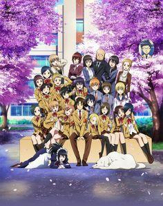 Imagen promocional oficial de la película de Seitokai Yakuindomo.