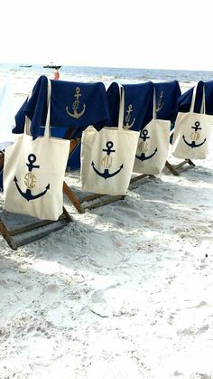Bachelorette Parties 194358540154258609 - Nautical bachelorette party totes and monogrammed towels ⚓️ Source by duffydesignco Bachelorette Cruise, Nautical Bachelorette Party, Nautical Bridal Showers, Bachelorette Party Decorations, Bachelorette Party Favors, Anchor Monogram, Do It Yourself Wedding, Cruise Wedding, Monogram Tote Bags
