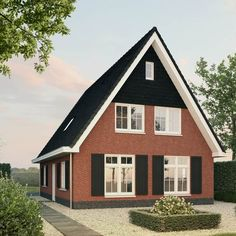 Lange Jaap A - Lighthouse Living - Lilly is Love Attic House, Cottage House Plans, Beach Cottages, Style At Home, Cabana, Lighthouse, Shed, Outdoor Structures, House Design
