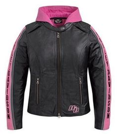 Harley-Davidson Women's Cruiser 3-in-1 Leather Jacket. 97079-12VW - Women's Harley-Davidson® Leather Motorcycle Jackets