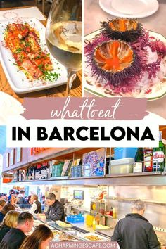 What to Eat in Barcelona? This is the ultimate Barcelona Foodie Guide. Where to find the best Pintxos/Tapa Crawl in Barcelona Spain, the best seafood, the best breakfast and more! #barcelona #spain | Barcelona Foodie Guide | Best restaurants in Barcelona | Best Foods in Barcelona | Where to eat in Barcelona | Barcelona Travel Guide Barcelona Travel Guide, Barcelona Food, Barcelona Catalonia, Cava Sparkling Wine, Tasty Pastry, Sometimes I Wonder, Fresh Figs, Spain Travel, Light Recipes