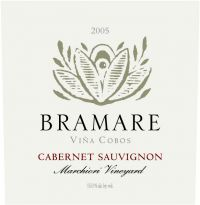 Bramare Cab is one of those wines that retails for around $36 but you would swear it was 20 bucks more - Paul Hobbs project