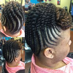 Crochet Hair Memphis Tn : ... hair makeup nails side forward braided updo with crochet braids 2