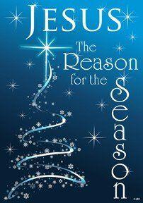 Amazon.com: Christmas Jesus is the Reason for the Season Garden Flag 12 x 18: Patio, Lawn & Garden