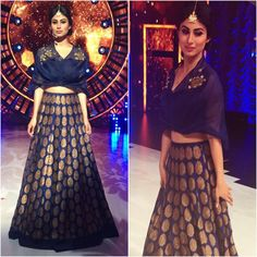ideas wedding reception outfit ideas crop tops for 2019 Indian Gowns, Indian Attire, Indian Wear, Indian Style, Indian Ethnic, Indian Sarees, Indian Wedding Outfits, Indian Outfits, Ethnic Outfits
