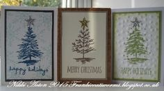 Addicted to Art: Quick cards for Christmas