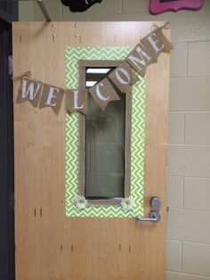 Room to Bloom in 3rd Grade, Chevron and Burlap