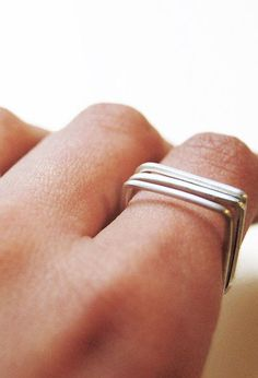 Stacked square rings