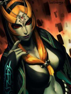 fandoms-females: twili_midna_by_bellhenge ( The Mistresses of Gaming Finale - Her Final Form ? )
