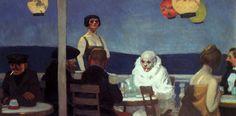 Edward Hopper, Evening Blue, 1914