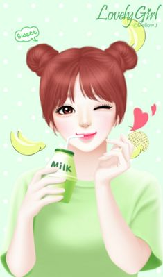 Find images and videos about girl, cute and art on We Heart It - the app to get lost in what you love. Cartoon Girl Images, Cute Cartoon Girl, Anime Girl Cute, Anime Art Girl, Cute Girl Drawing, Cartoon Girl Drawing, Cute Drawings, Cute Anime Girl Wallpaper, Lovely Girl Image