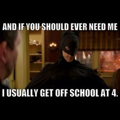 Abed Nadir is the right person to succeed Christian Bale as the Dark Knight.