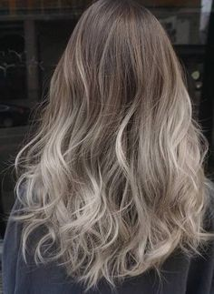 15 Flattering ash blonde hair looks. Classy blonde hair colors. Ash blonde and silver ombre hairstyles. Classy blonde ombre hair color ideas.