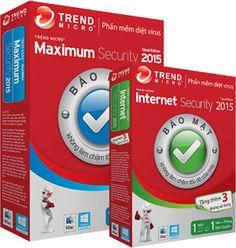 Phần mềm diệt virus Trend Micro Titanium Internet Security 2015