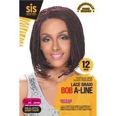 Zury Sis Afro Braid Lace Front Wig BOB SENEGALESE