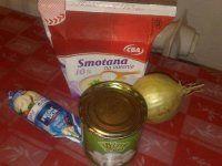 Rýchla syrovo šunkovo slaninová omáčka na špagety | Mimibazar.sk Ketchup, Food, Essen, Meals, Yemek, Eten
