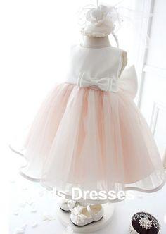 Tulle Flower Girl Dress New Years Dress Wedding by kidsdresses, $37.99