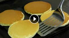 Step by step instructions to make delicious soft thick pancakes. Delicious with jam or maple syrup.