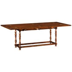 Jonathan Charles Large Walnut Hunt Table
