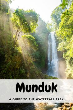 A detailed guide of how to do the Munduk Waterfall Trek - a wonderful hike through the beautiful jungle surrounding the small village of Munduk, Bali. Munduk Bali, Bali Waterfalls, Gili Air, Family Vacation Spots, Waterfall Hikes, Amazing Destinations, Travel Destinations, Travel Tips, Bali Travel