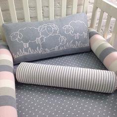 kit de berço em tricot carneirinhos - PiLuLiTo