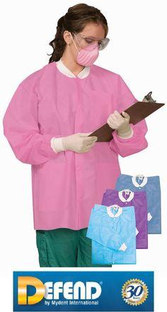 Dental Medical Vet Tattoo Defend Plus Full Length Lab Coats XL 2 Bags | eBay