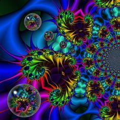 .beautiful..I am crazy about Fractals because everything is FRACTALS!  LOVE <3