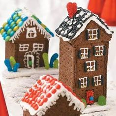Christmas Cottages Recipe from Taste of Home