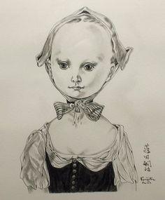 藤田嗣治 Nihon, Japanese Artists, Illustration, Painting & Drawing, Childhood, Painters, Drawings, Beauty, School