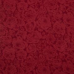 3 Day Blinds Curtains Sample, Pattern: Irish Rose, Color: Bordeaux, Pattern Repeat: H: 17.75 inches, V: 36.5 inches, Material: 100 percent Linen, Dimensions in Inches: 20 x 20