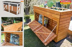 balkon bed building with storage space for yellow bags.This project we wi Aufbewahrung aufbewahrung garten holz bagsThis Balkon bed building DIY Project Raised space Storage yellow Bed Storage, Storage Spaces, Garden Projects, Diy Projects, Outdoor Spaces, Outdoor Decor, Backyard, Patio, Diy Furniture Plans