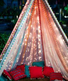 Desi Wedding Decor, Wedding Hall Decorations, Backdrop Decorations, Mehendi Decor Ideas, Mehndi Decor, Event Decor, Babylon History, Tent, Hanging Gardens