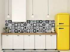 Set of 24 Tile Stickers kitchen Decals Tiles Stickers Tiles