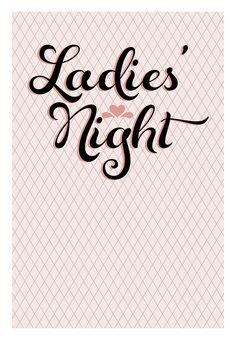 Free Printable #Bachelorette Party #Invitation