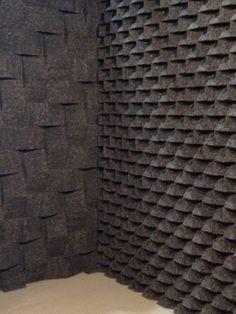 Tania da Cruz - Tactile cork wall treatment