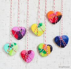 BrightNest | We Heart This Valentine's #DIY Project!! SO easy.