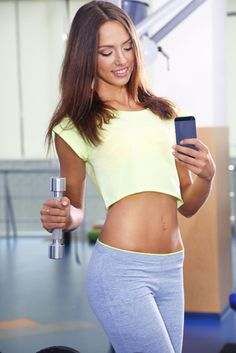 Use photos to track your fitness progress. No selfies though. You Fitness, Your Photos, Exercise, Crop Tops, Model, Selfies, Track, Fashion, Beauty